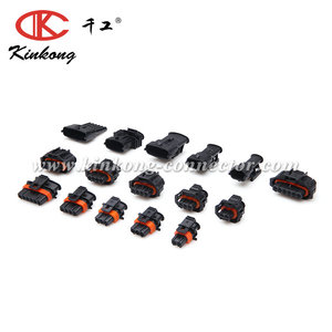 Kinkong Products Easy To Sell 3 Pin Male Boschs Type Automotive Ev1 Injector Connector