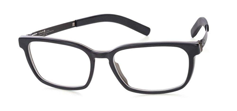 cb6d9bb94a089 Get Quotations · IC Berlin NGUYET N. Eyeglasses  Espresso-Matt Black Black-Matt