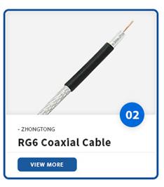 नंगे तांबे कंडक्टर पीवीसी पीई जैकेट rg59 rg11 rg58 सीसीटीवी CATV संचार के लिए rg6 समाक्षीय केबल