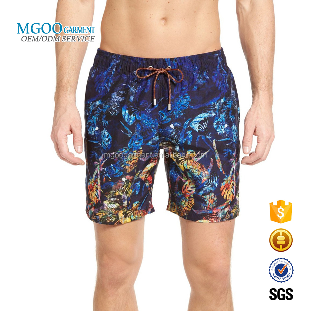 1da5ffb2844 Plus Size Men Swim Shorts Custom Pattern Print Swim Trunks Personal Design  Drawstring Waistband Beach Shorts