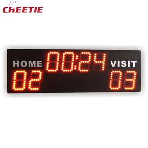 Outdoor LED Portable Digital Basketball Scoreboard Display 24 Seconds Shot Clock in LED Displays