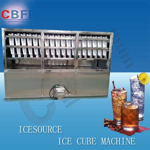 5000kg/day ice cube packing machine maker in China
