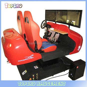 int rieur jeu center 3d simulateur de conduite automobile course machine de jeu pour adultes. Black Bedroom Furniture Sets. Home Design Ideas
