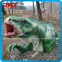Outdoor dinosaur theme park high quality fiberglass figurine