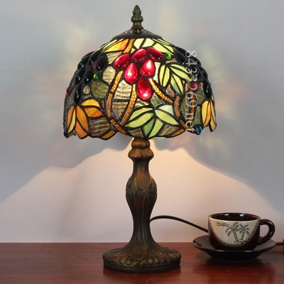 Tiffany vintage table lamp living room restaurant sofa light bar hotel club decorative table lamp