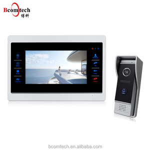 Smart Home 7 Inch Color Video Door phone Intercom System / DoorBell with Waterproof IR Camera