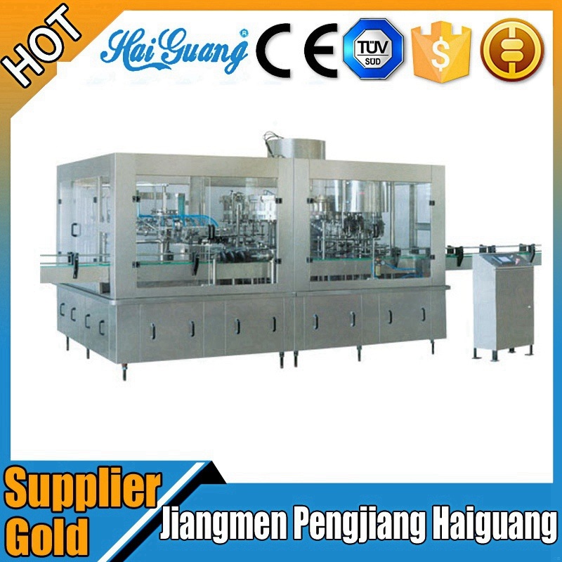 Factory supply auto distilled water filling production line
