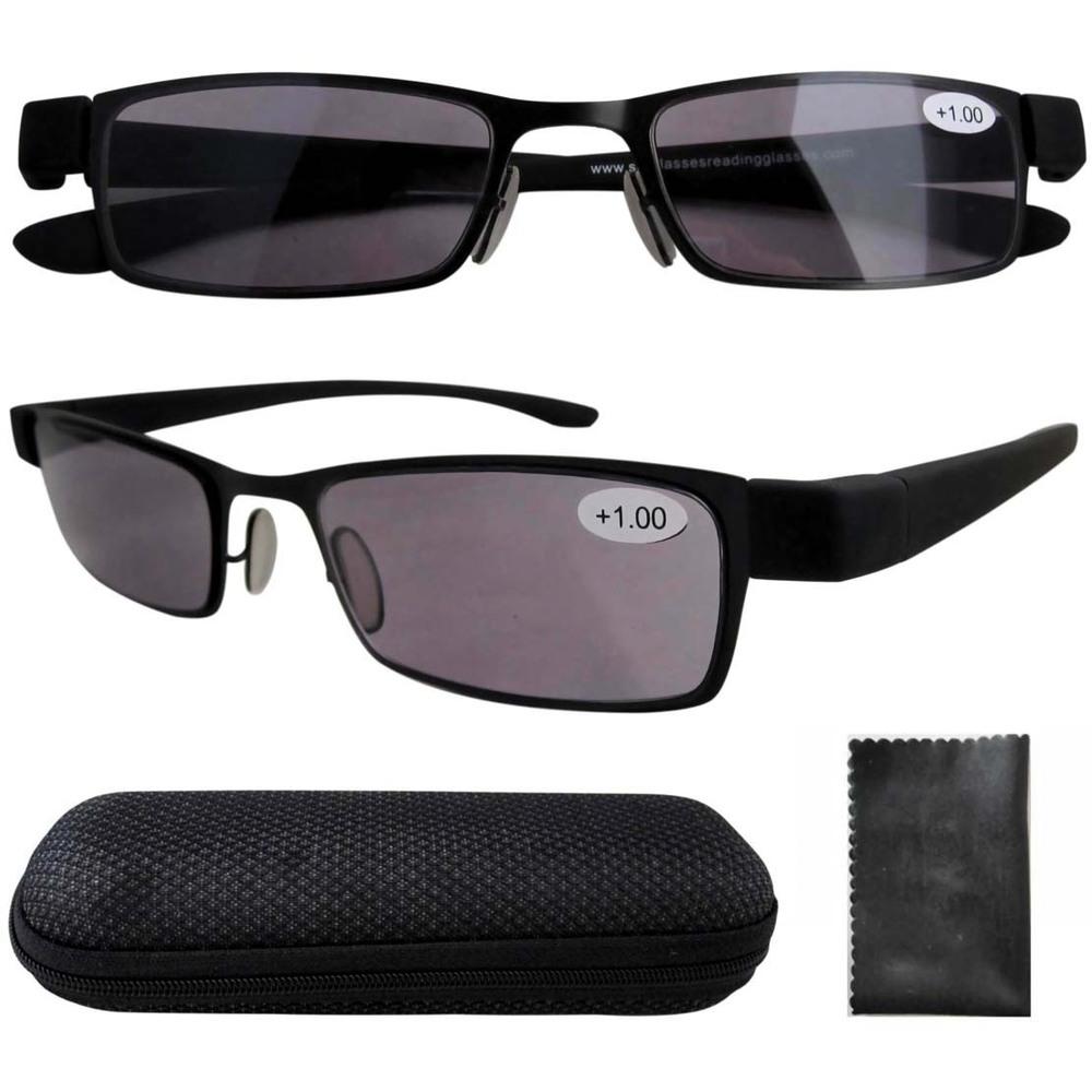 R11043 резина окрашенные пластиковые оружия вс читателей дымчатый объектива очки для чтения 1.00 / 1.25 / 1.50 / 1.75 / 2.00 / 2.50