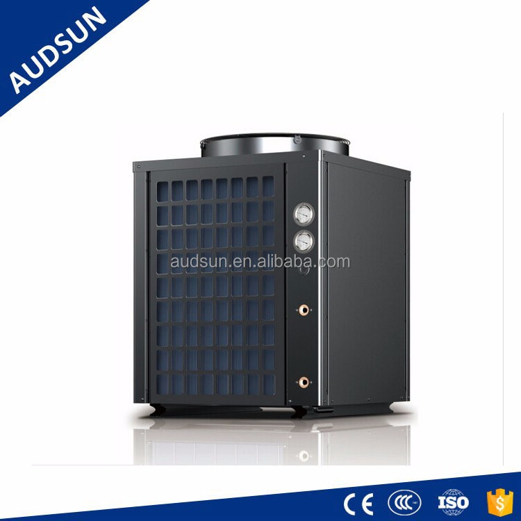 9KW Multi-function 2 in 1 Air Source Heat Pump hot water & air cooling system,central ac-con and hot water supply,Audsun