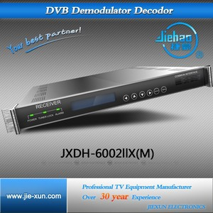 DVB-C/S2/T Digital CableTV IP Streaming Receiver Decoders