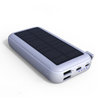 Konfulon 2019 NEW Solar Power Bank 20000mAh Portable Battery Charger 2USB Outdoor Mobile Power Supply for Cellphones