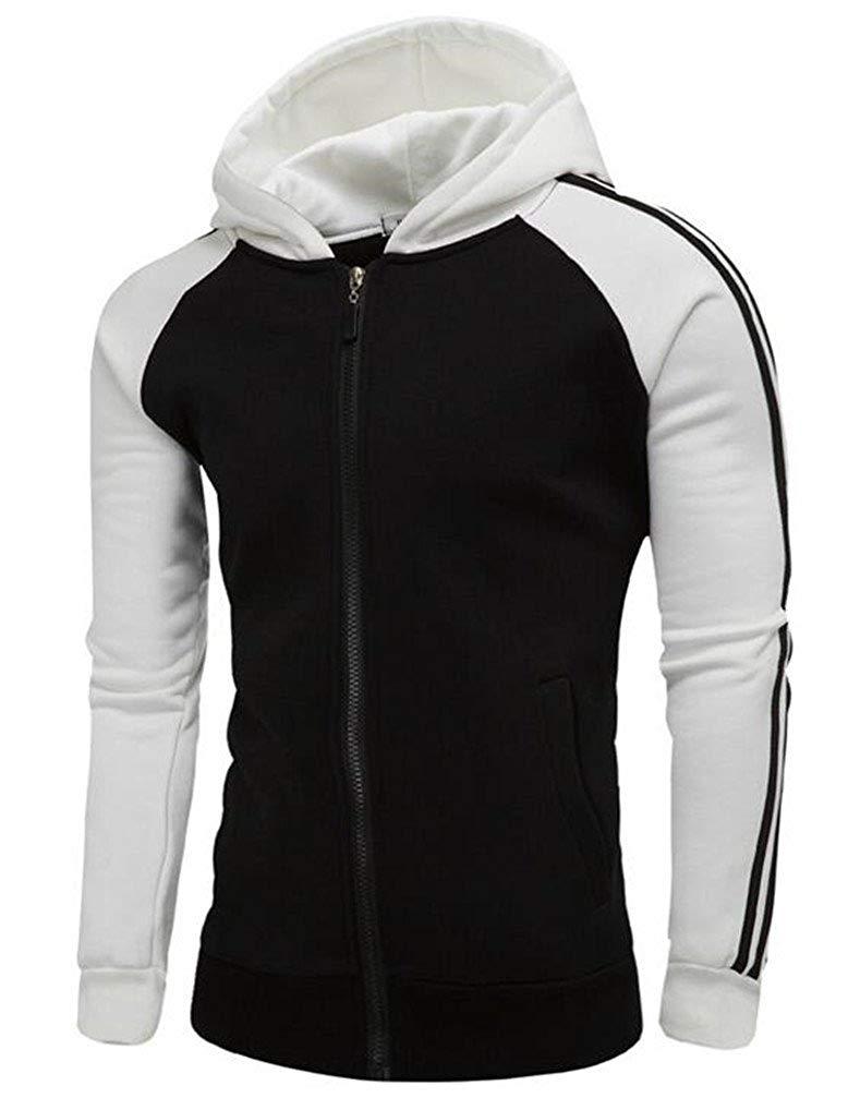 88c673106f84 Get Quotations · Next Class Men s Spring Autumn Zipper Sport Hoodies