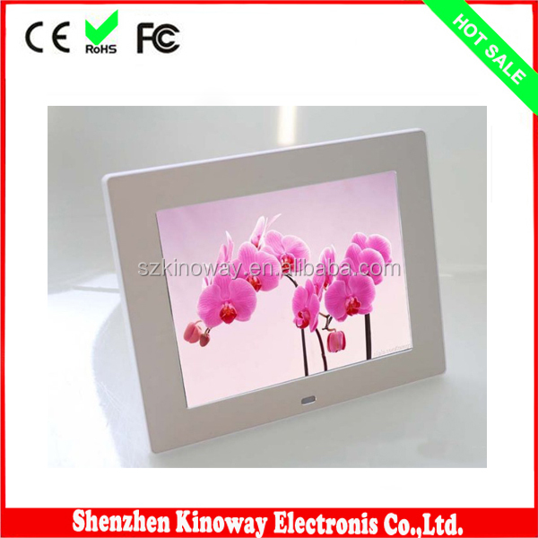 Shenzhen manufacturers supply high quality hot selling 8inch funny photo frames with multi touch screen