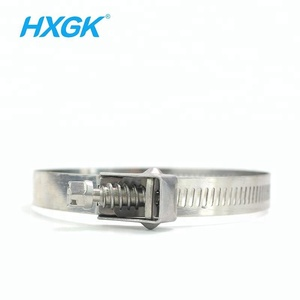High Quality 14mm Width Stainless Steel Zip Ties Hose Clamp Type Steel Cable Tie