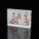 Clear Mini Magnetic Glass Plexiglass Acrylic 4x6 5x7 6x8 8x10 Magnet Photo Picture Block Booth Frame