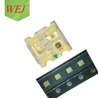 0.06w 30mA 615-630nm 0603 red smd led specification