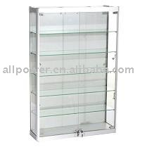 Wall Mounted Display Cabinets Aluminum