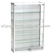 Wall Mounted Display Cabinets,Aluminum Profile,Tempered Glass ...