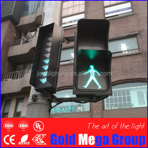 China Factory Supply 8inch Dynamic Red Green Pedestrian Safety flashing warning signal traffic light