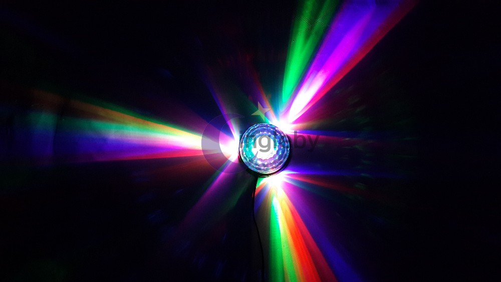 Kerst Dj Verlichting Dj Controller Afstandsbediening Rgb Led Crystal ...