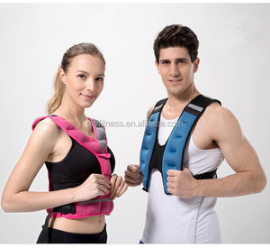 Fashion Design Fitness Iron Sand Filled Weighted Vests