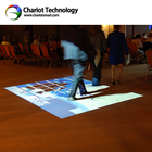 New advertising product interactive floor projection with all-in- one version for advertising,Convention, Centers