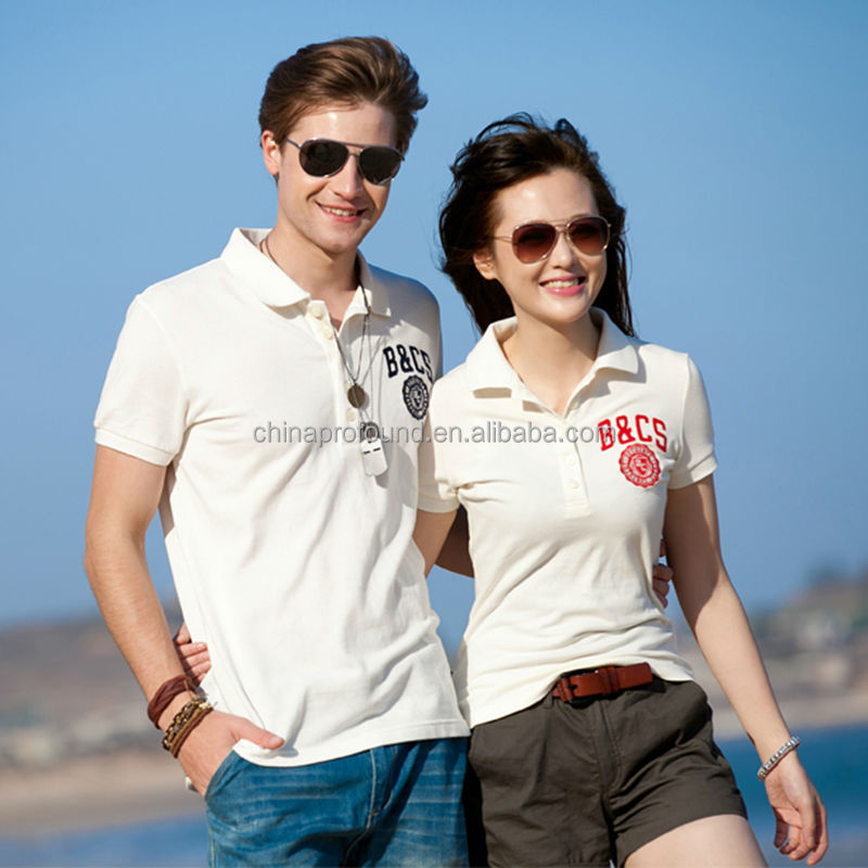 Couple polo t shirts design for lovers view couple shirts for Couple polo shirts online