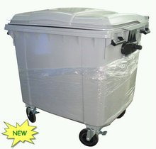 New HDPE 1100L Dustbin