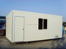 Comfortable durable easy fast install 20ft container office, assemble container house