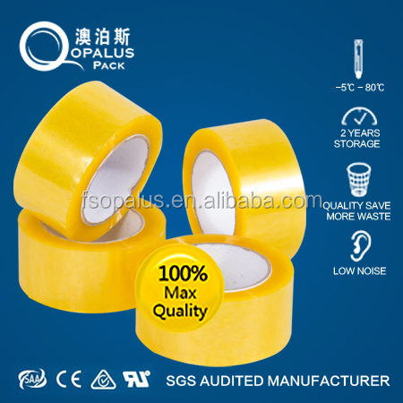 Clear small roll bopp adhesive tape ,40mic*45mm*30 yards