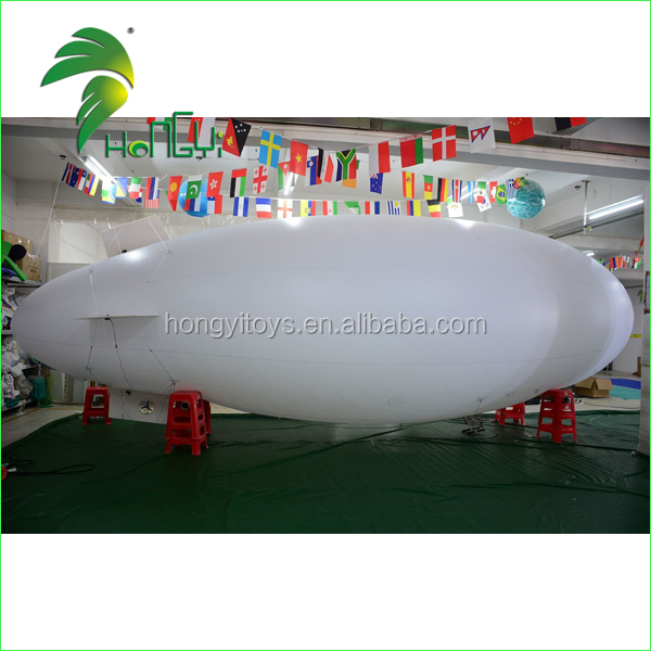 Hot Sale Air Floating Helium Airship / RC Helium Blimp / Inflatable Zeppelin Helium Balloon For Outdoor Advertisement