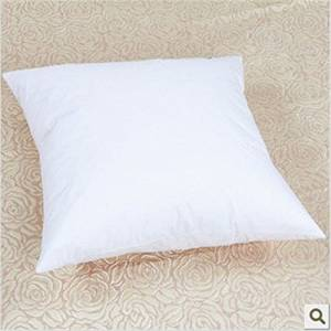 Get Quotations White 80 Duck Feather And 20 Down Decorative Throw Pillow Inner Insert Cushion