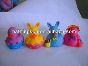easter rubber duck