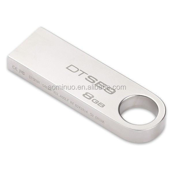 Promotional price High Quality Metal DTSE9 4GB-64GB USB <strong>Flash</strong> driver Stainless steel USB drivers