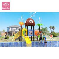 Water land series play structure school outside ground playing equipment kids outdoor playground equipment