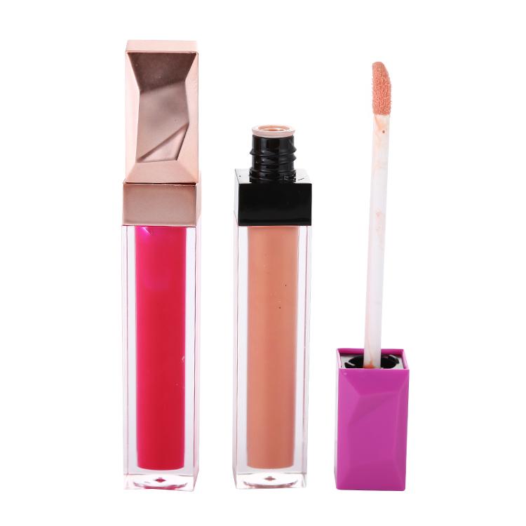 Clear lip gloss tube cosmetic long-lasting waterproof private label lip gloss matte liquid lipstick фото