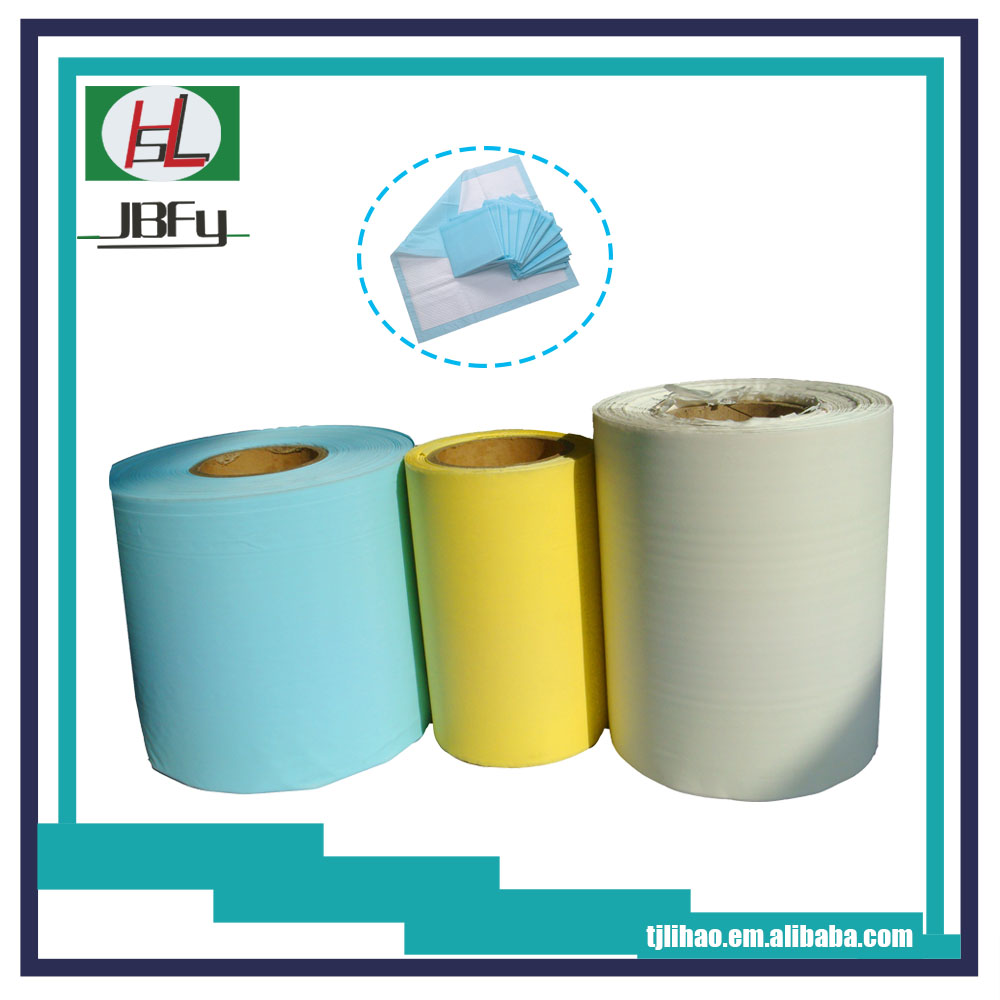 PE film for disposable hospital nursing pad