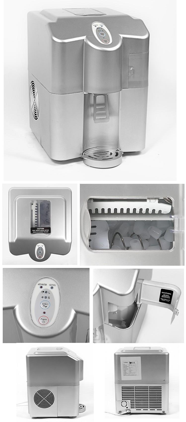 Domestic Countertop Ice Maker : Countertop Ice Cube Maker Machine Home Mini Ice Cube Maker - Buy Ice ...
