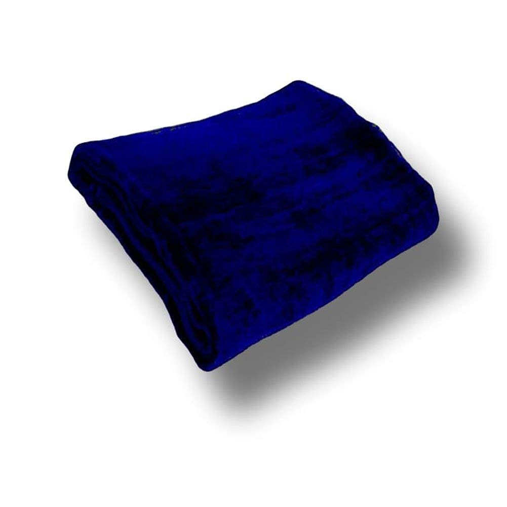 """Custom & Luxurious {24"""" x 54"""" Inch} 1 Single of Mid-Size & Thick Soft Summer Beach & Bath Towels Made of Quick-Dry Cotton w/ Cobalt Solid Colored Cabana Hotel Style [Navy]"""