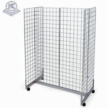 durable double side supermarket hanging display