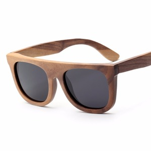 3AM10031 straight line frame cool we wood sunglasses