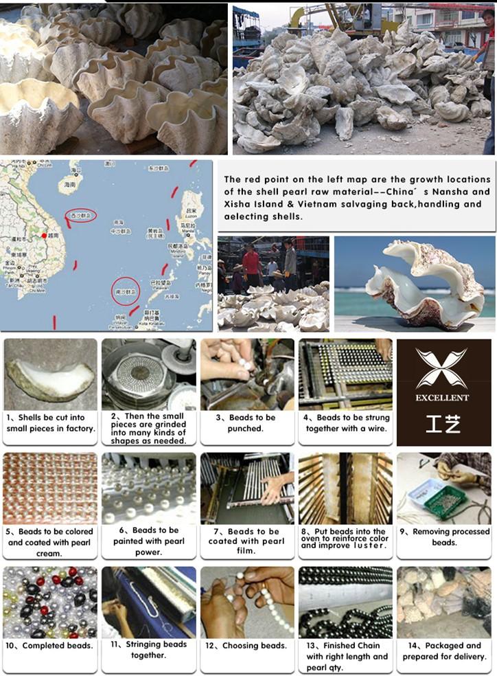 Free Sample! Wholesale Loose Gold South Sea Shell Pearl ...