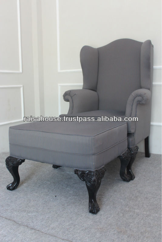 Indonesia Furniture - ARMCHAIR + OTOMAN