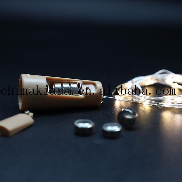 Cork Shaped Bottle Stopper Led Wine Cork Light