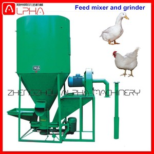 Animal feed pellet production line chicken feed concentrate animal feed milling machine