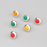 16mm domed head waterproof remote control pin terminal momentary/latching push button switch