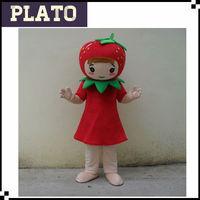 Lovely Strawberry Shortcake Mascot Costume,Strawberry Fancy Dress ...