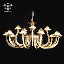Hot selling 2018 antler modern luxury crystal chandelier