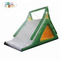 Commercial inflatable water pool slide for water obstacle course inflatable swimming pool water slide