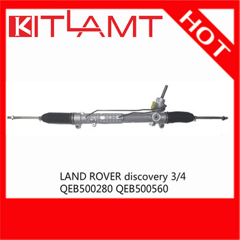 Auto Steering System Power Steering Rack And Pinion For Landrover